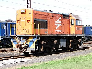 South African Class 36-000 - Image: Class 91 000 91 010