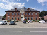 Clastres (Aisne) mairie.JPG