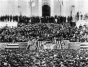 Inauguration of US President Grover Cleveland