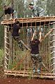 Climbing a cargo net.jpg