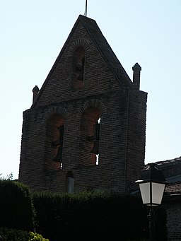 Clocher Eglise Villate.JPG