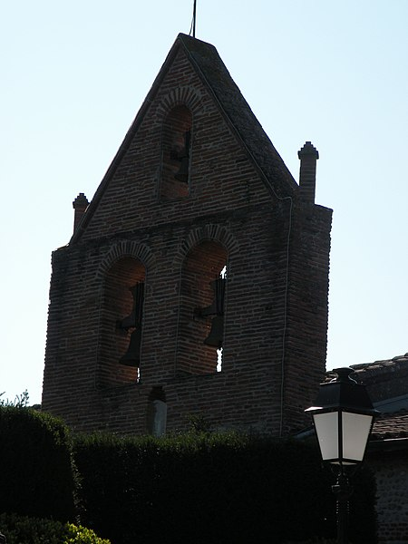 Steeple of the Church of Villate