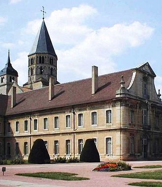 Cluny Abbey - Cluny Abbey in 2004