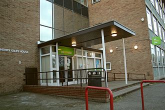 Jobcentre Plus - A Jobcentre Plus in Cambridge, England.