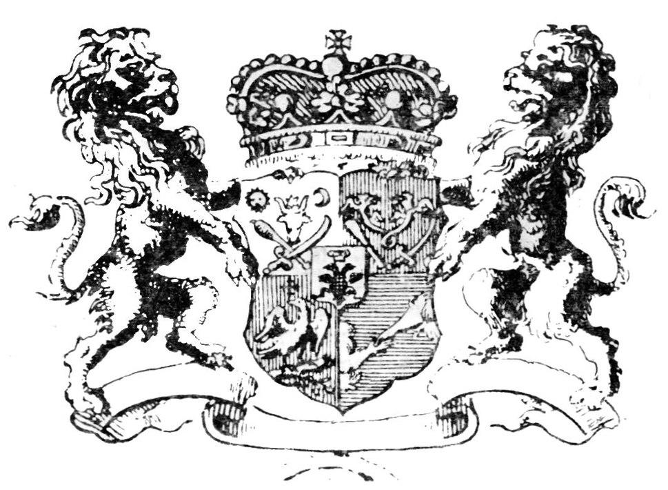 Coa Dimitrie Cantemir 1734