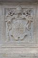 Coa of Pope Alexander VII on the Elephant and Obelisk.JPG