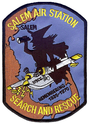 Coast Guard Air Station Salem - Image: Coast Guard Air Station Salem patch