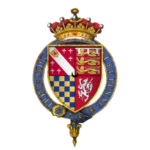 Theophilus Howard, 2nd Earl of Suffolk - Arms of Sir Theophilus Howard, 2nd Earl of Suffolk, KG