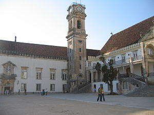 Coimbra Academic Association - The tower of the University of Coimbra