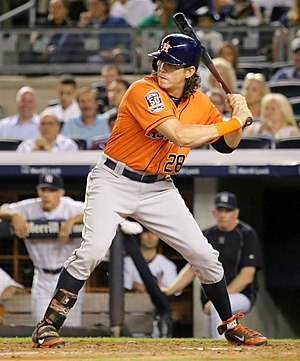 Colby Rasmus - Rasmus with the Houston Astros