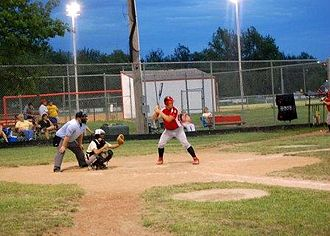 Osawatomie, Kansas - Baseball at sports complex (2008)