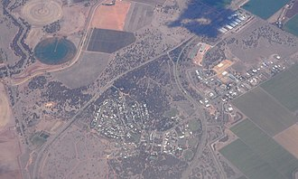 Coleambally - Aerial view of Coleambally.