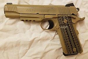 MEU(SOC) pistol - Colt M45A1 pistol, decommissioned