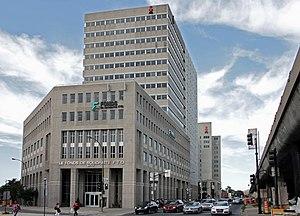 Fédération des travailleurs et travailleuses du Québec - The FTQ Complex in Montreal