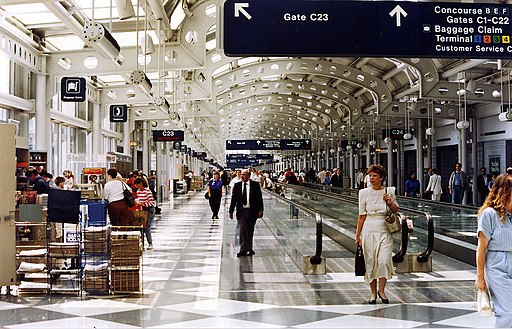 Concourse C from 1991