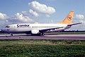 Condor Boeing 737-330; D-ABWB@MUC, 1991 CRC (5066941090).jpg