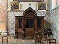 Confessionnal Est Intérieur Église Saint Vincent - Mâcon (FR71) - 2021-03-01 - 2.jpg