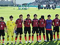 Consadole Sapporo Youth U-15, after the game, 20091227-05.jpg