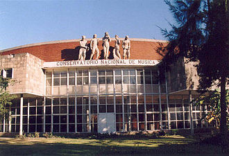 Carlos Chávez - National Conservatory of Music. México City