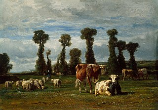 Pasture in Normandy
