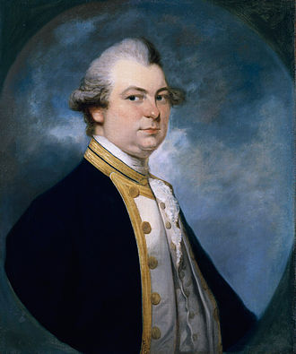 Constantine Phipps, 2nd Baron Mulgrave - Phipps around 1779