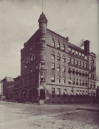 The Atlanta Journal-Constitution - Constitution building 1890