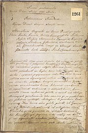Constitution of May 3 in Lithuanian language