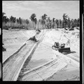 Construction on Eniwetok. Bulldozers working on air strips - NARA - 520723.tif