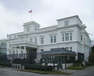 Consulate General of the United States, Hamburg - The White House of Hamburg