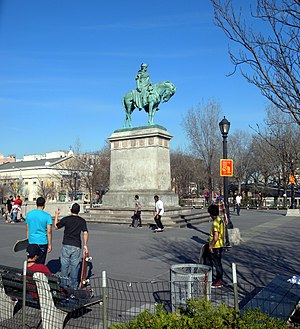 Continental Army - Continental Army Plaza, Williamsburg, Brooklyn
