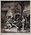 Cornelis dusart, il violinista seduto nella locanda, 1685.jpg