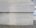 Cornerstone at Century Station Federal Building and Postal Station located in Raleigh, North Carolina LCCN2013634047.tif