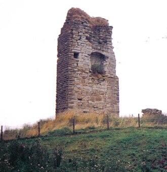 Barony and Castle of Corsehill - Image: Corsehill Castle