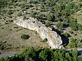 Corsica - Ponte Leccia-Corte train - some long rock - panoramio.jpg
