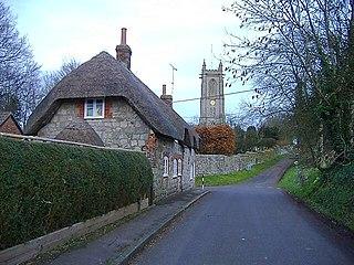 West Overton Human settlement in England