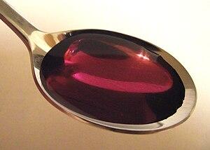 Purple drank - Image: Coughsyrup promethcode