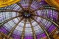 Coupole des Galeries Lafayette, boulevard Haussmann à Paris.jpg