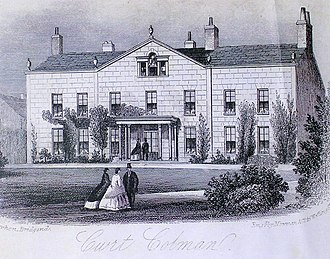 Court Colman Manor - Court Colman in the early days.
