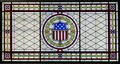 Courtroom one stained glass, James R. Browning U.S. Court of Appeals Building, San Francisco, California LCCN2010719378.tif