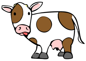 English: cow icon
