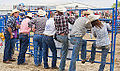Cowboys at a rodeo (14583533819).jpg