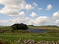 Crag Lough 2009, viewed from Hadrian's Wall.jpg