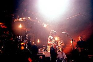 Cranes (band) - Cranes performing live