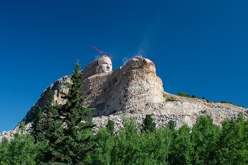 Image result for crazy horse memorial