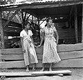 Creools en Javaans meisje in Nickerie, Bestanddeelnr 252-5468.jpg