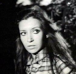 Cristina Fernández en los años setenta