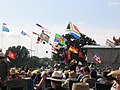 Cropredy Festival flags, 2007 - geograph.org.uk - 532475.jpg