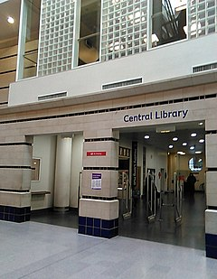 library in Croydon UK