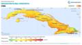 Cuba GHI Solar-resource-map lang-ES GlobalSolarAtlas World-Bank-Esmap-Solargis.png