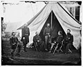 Culpeper, Va. Generals of the Army of the Potomac- Gouverneur K. Warren, William H. French, George G. Meade, Henry J. Hunt, Andrew A. Humphreys, George Sykes LOC cwpb.03981.jpg